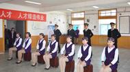 银川客运段高等级列车员专场招聘面试会在我校成功举办