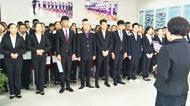 祝贺我校就业于银川客运段的学子正式上岗!