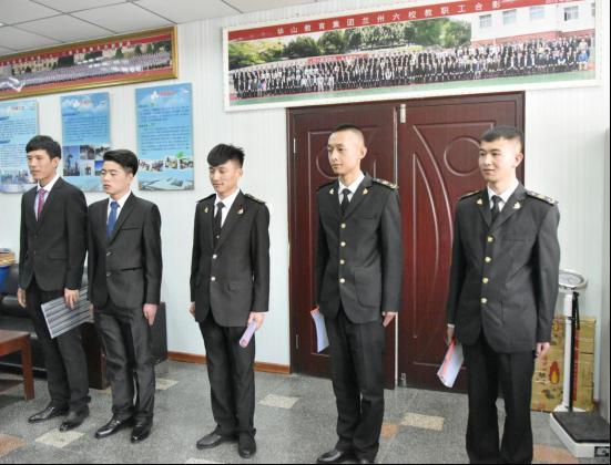 新疆木垒县公安局在我校召开警务辅助人员面试会